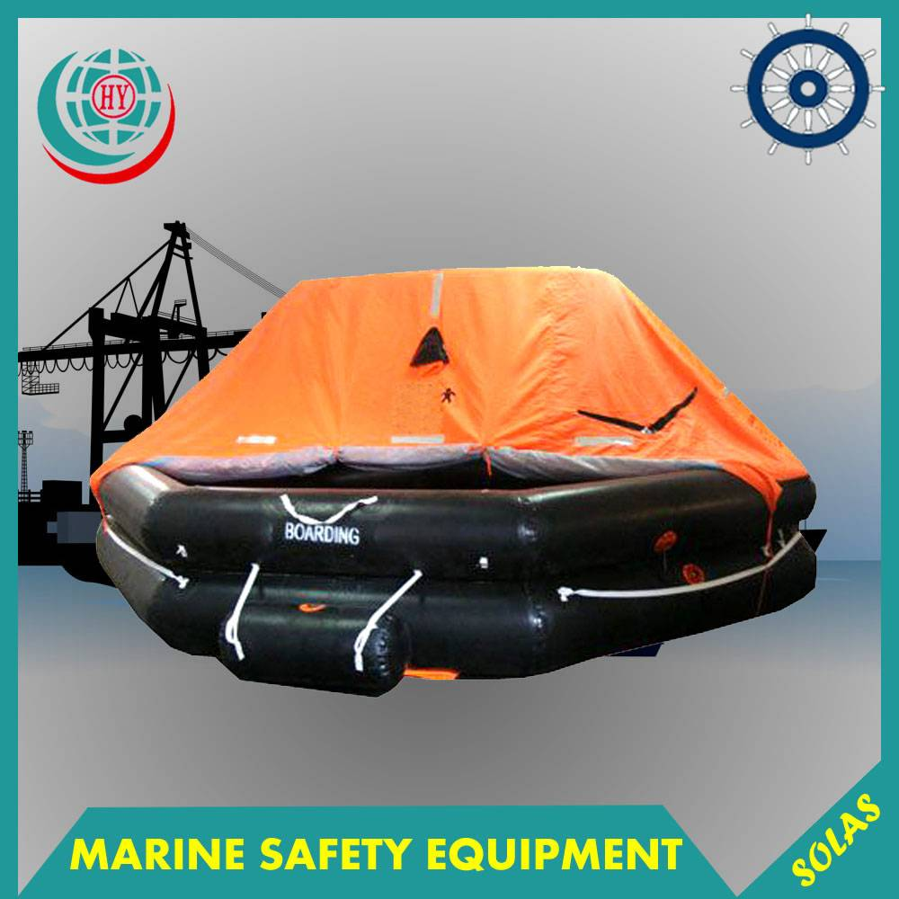 Marine Solas A Inflatable Life Raft With 6 Person