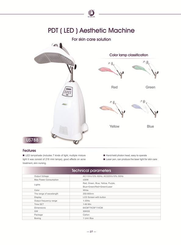 PDT LED beauty machine