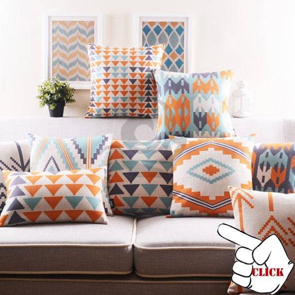 polyester/linen cushion cover
