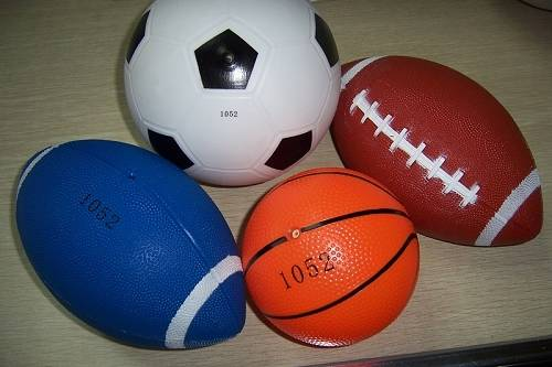 PU PVC basketball toys