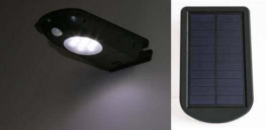 Solar sensor light