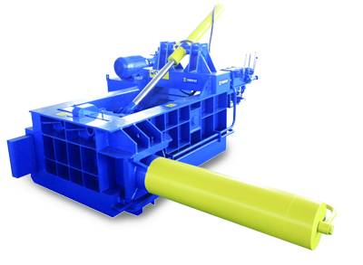 Waste car balers