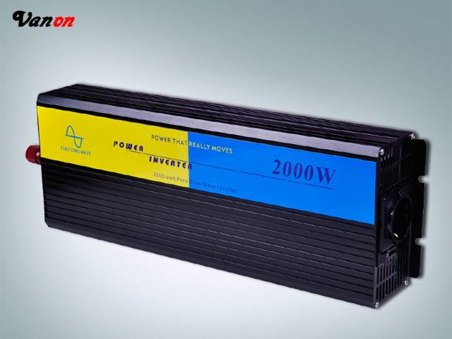 2000W Pure Sine Wave Power Inverter (4KW peak power,110V/220VAC available)