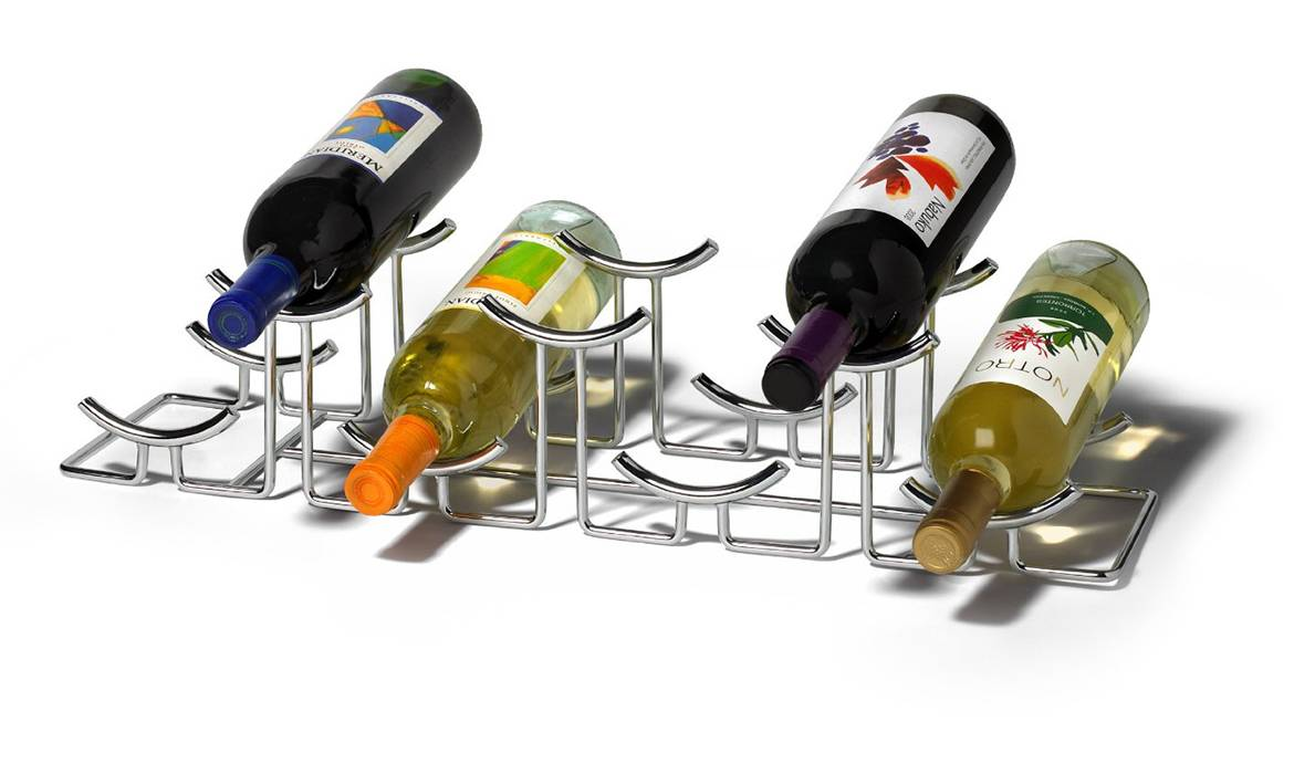 Wine Rack, Wine Collection Display, 7 Bottle