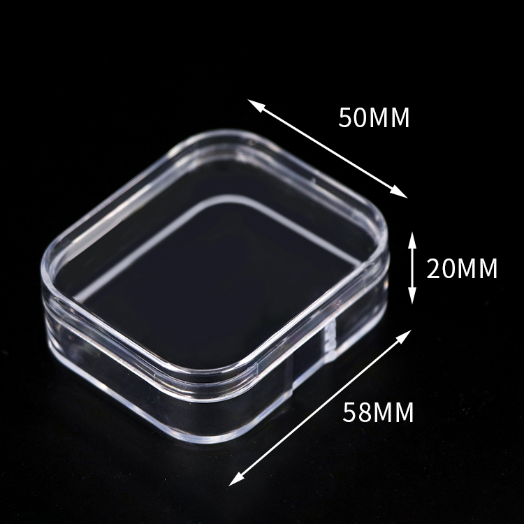 SUNSHING Wholesale Price Transparent Plastic Custom Earring Gift Box
