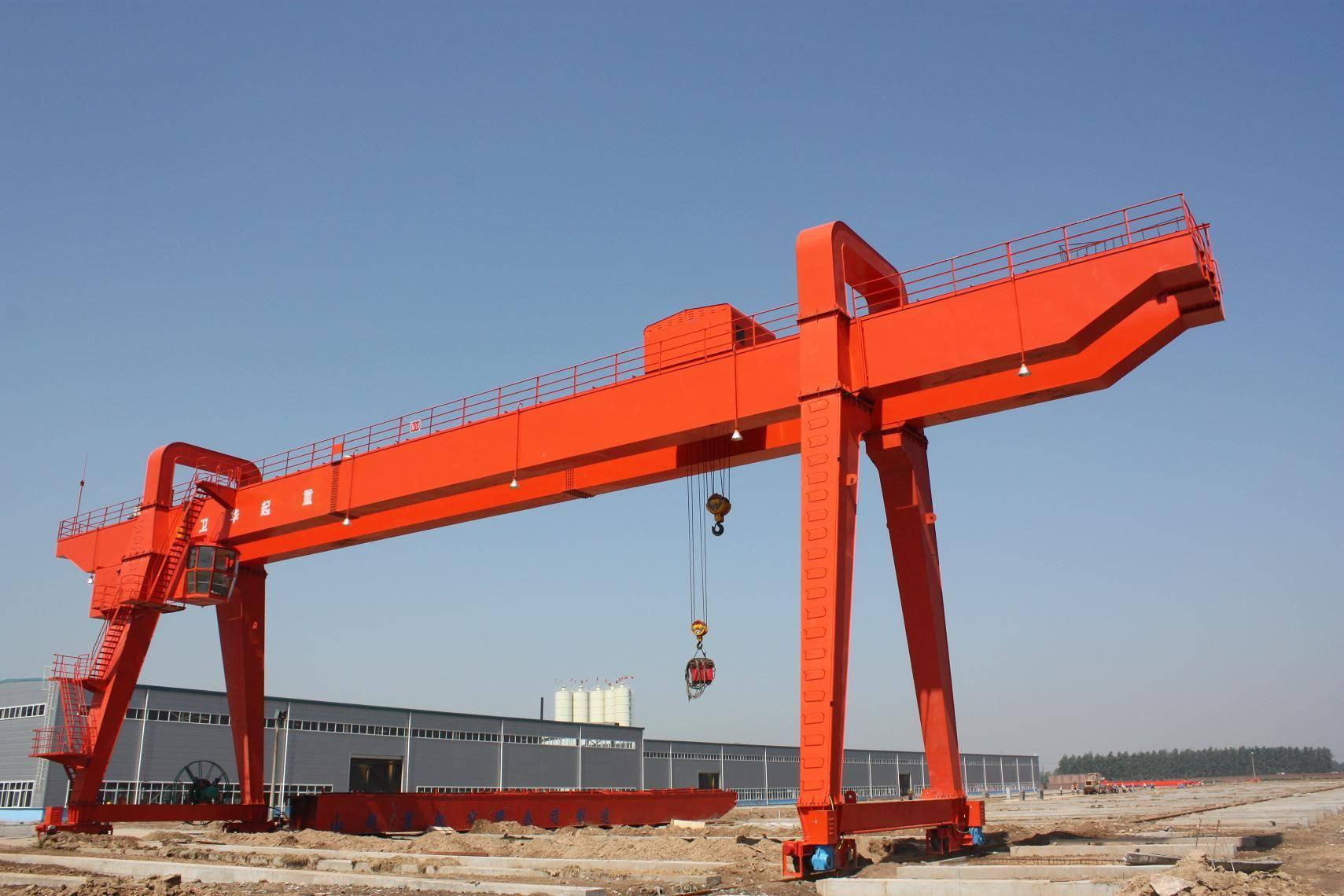 Railway used double girder overhead crane