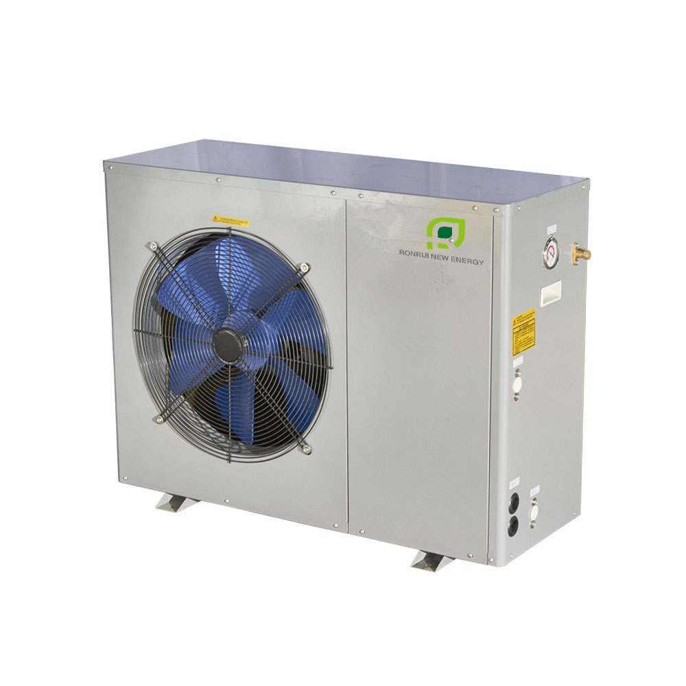 10kW EVI Air Source Heat Pump for Low Ambient Heating