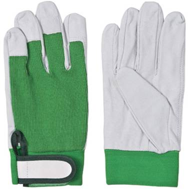 pig grain leather gloves/working gloves
