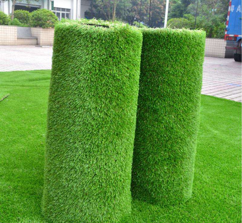 New artificial turf lawn landscaping cosy plastic lawn