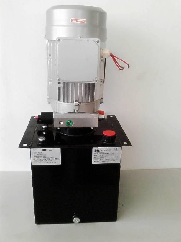 Lift platform power unit