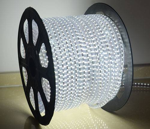 LED strip light SMD5050 220V waterproof red yellow blue decorative indoor outdoor light