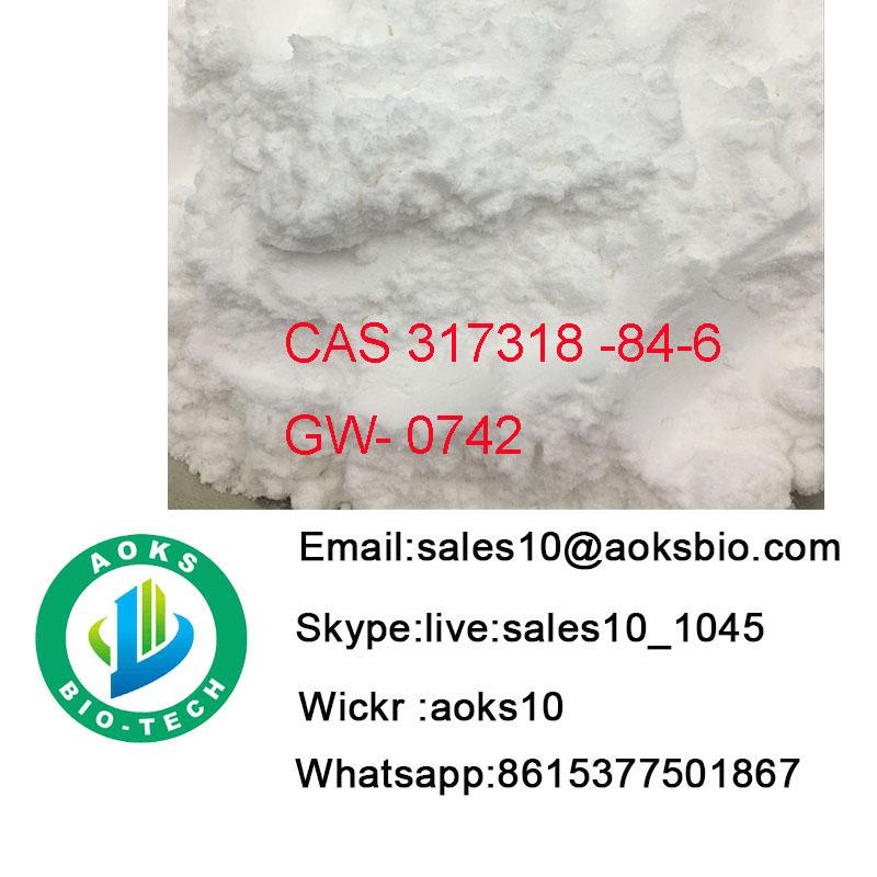 Safe Shipping Steroids powder Sarms CAS 317318-84-6 Gw0742