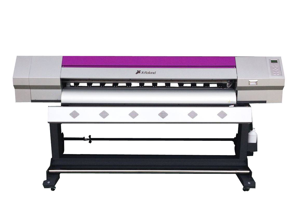 X-Roland multi-color digital leather printer with Epson head