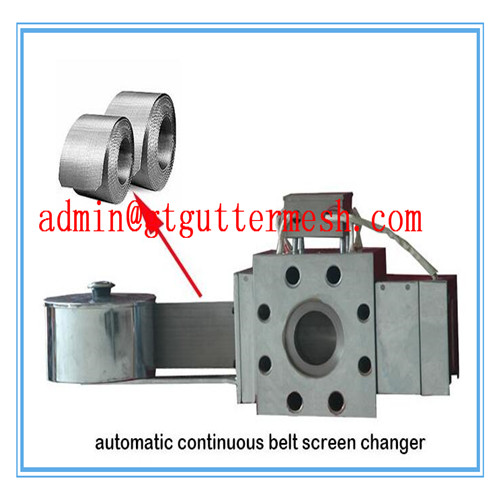 Continuous Auto Plastic Extruder Mesh Belt