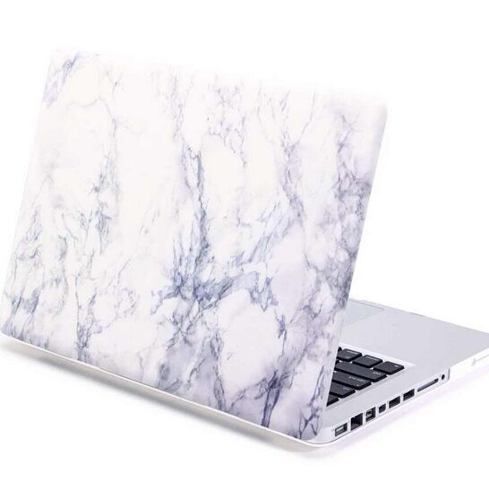 2017 hot sell white Marble Pattern Hard Shell Case Cover for new macbook Pro 15 marble case