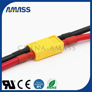 Amass XT60 connector cable,XT60 connector cable for lithium battery.