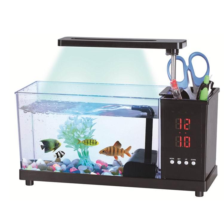 KangWei KW2014A Made in China custom design mini size acrylic fish tank large cylinder aquarium heat
