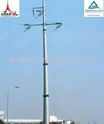 Galvanized steel tube tower