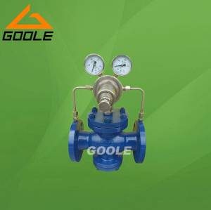 Pilot Operated Gas Pressure Reducing Valve