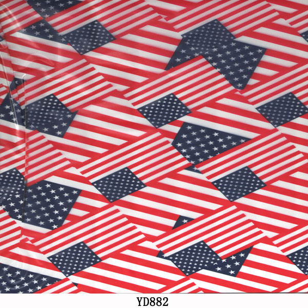 American Water Transfer Flag Printing Film Hydrographic Film, pva Water Soluble Film