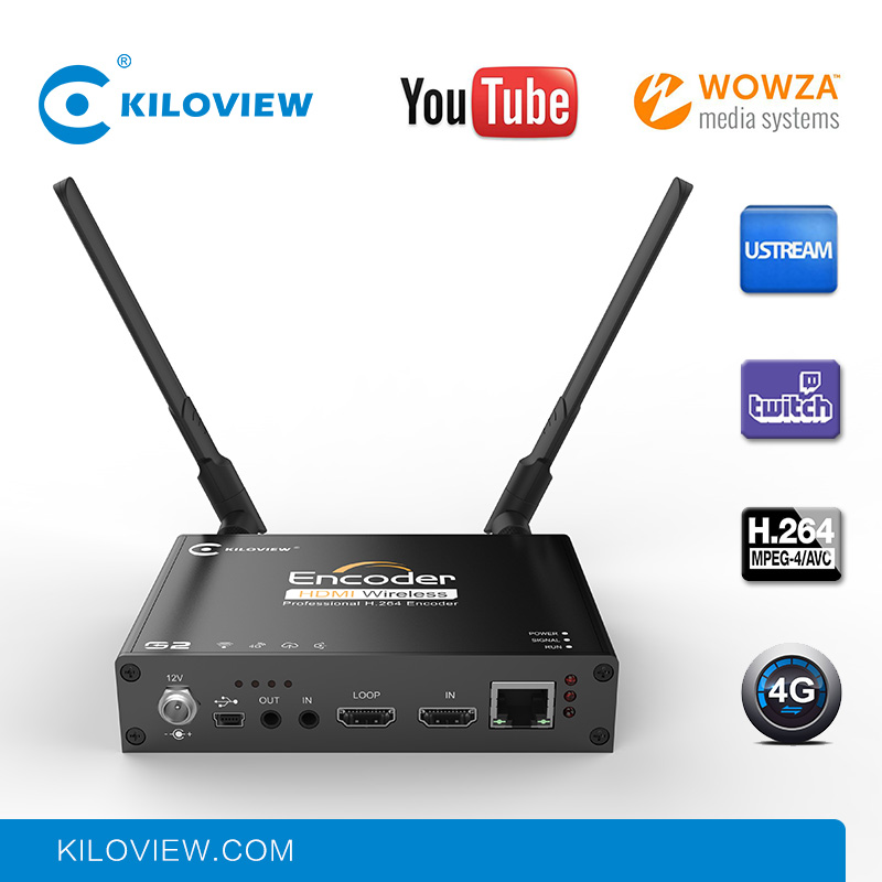 H.264 HDMI to IP Live Streaming Video Encoder