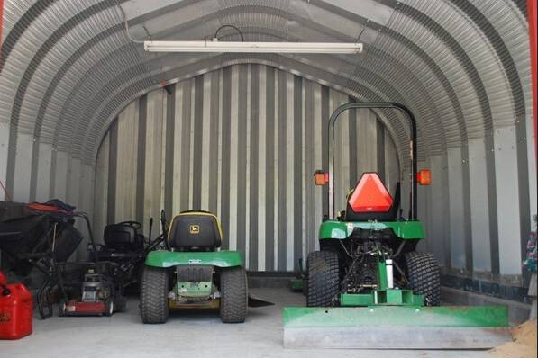Prefab Light Steel Structure Farm Storage Facility