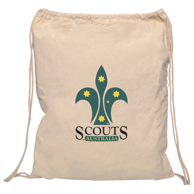 Custom Printed Calico Shopping Bags in Perth, Australia - Mad Dog Promotions