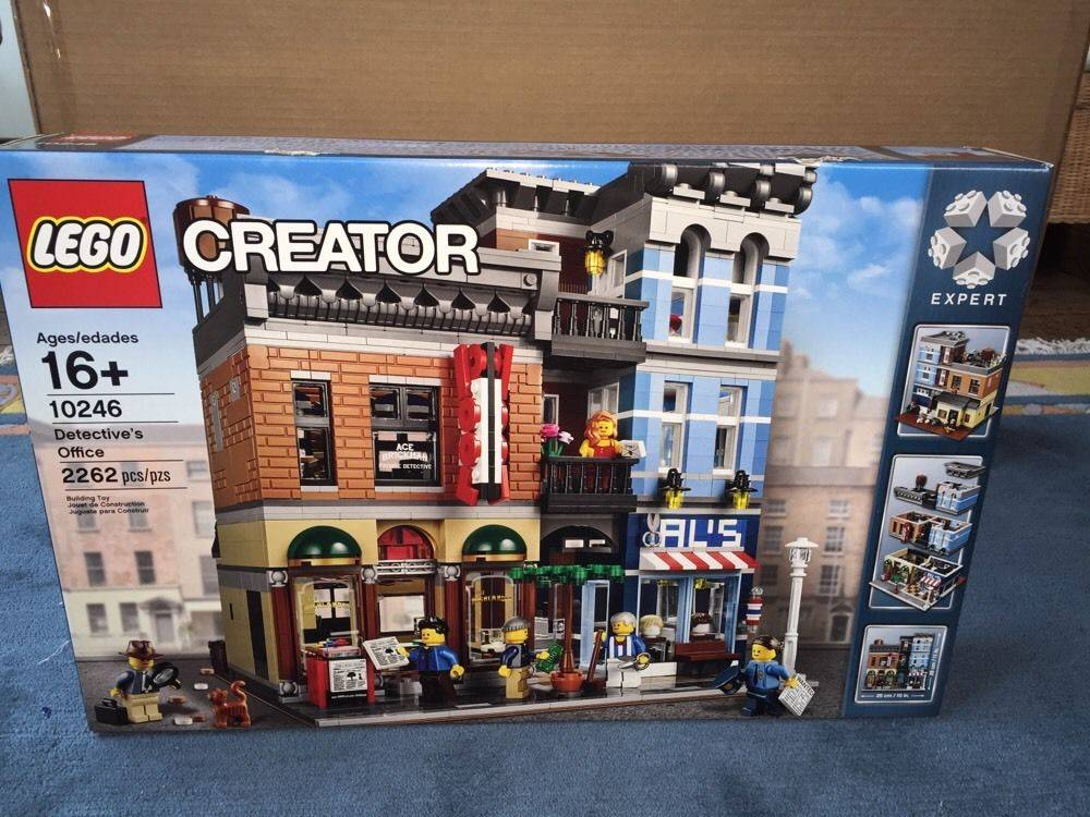 Lego 10246 Creator Detective's Office Set