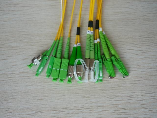 FC-ST-LC-MU/APC fiber optic patch