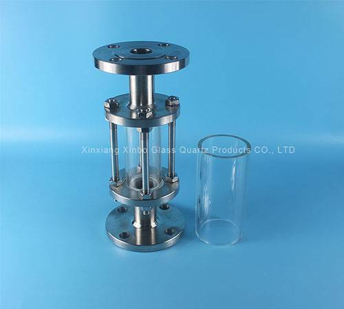 pyrex glass tube for lighting