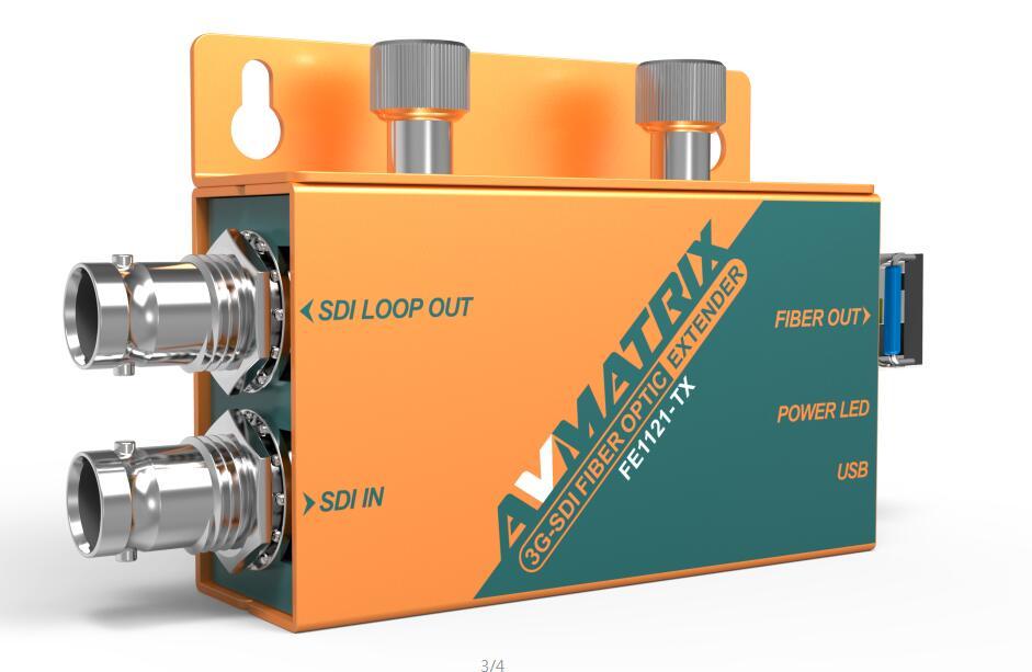 SDI to Fiber Optical Converter FE1121 Transmitter