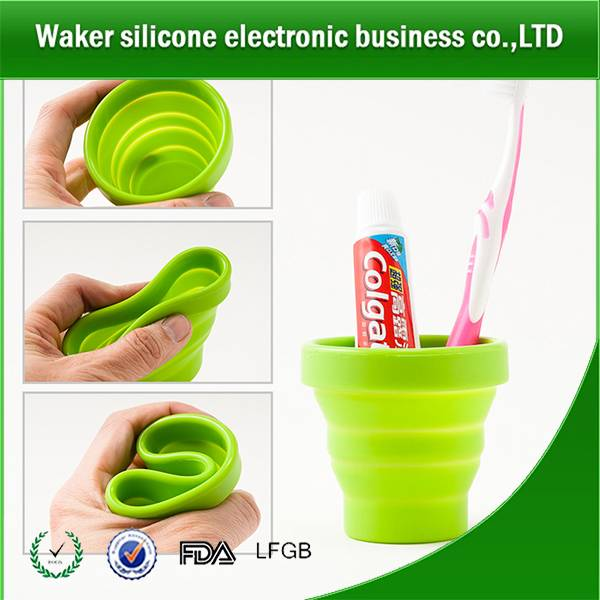 Interesting foldable travel water cup