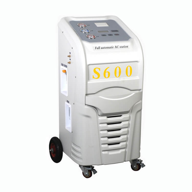 R134a Refrigerant Recovery and Charging Machine