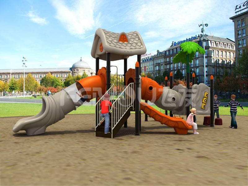 China children plastic playground equipment for park,school