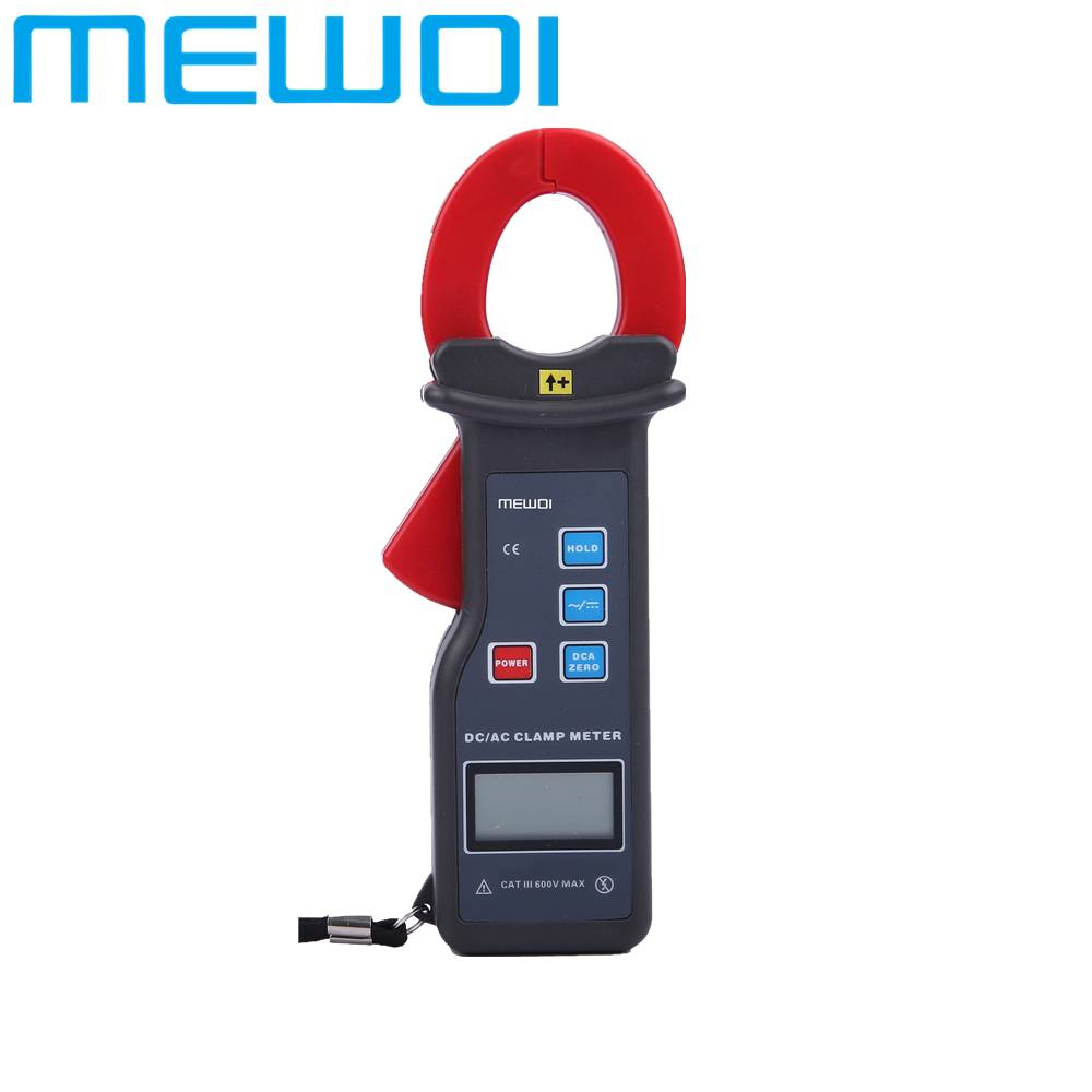 MEWOI7100-Portable High Accuracy AC/DC Clamp Meter/clamp on leakage current tester