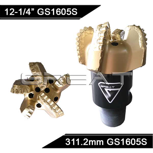 GREAT GM1605TZ Matrix Body PDC Drill Bit