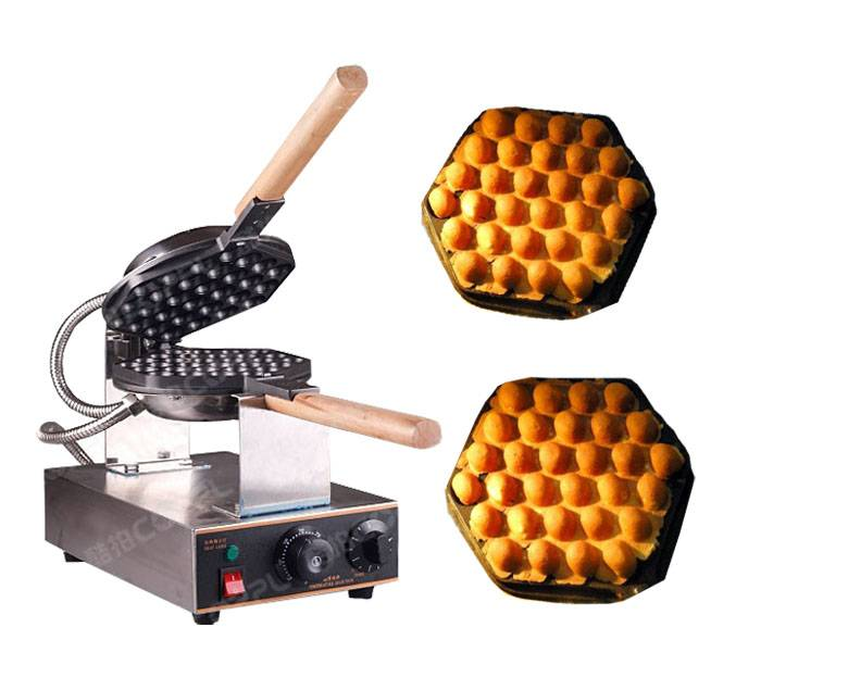 Electric 110V 220V Egg waffle machine Egg puffs maker