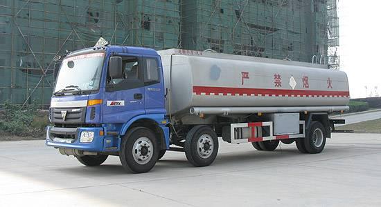 AUMAN 8*4 fuel tanker truck