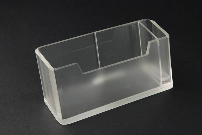 Acrylic wet tissue holder