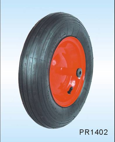 pneumatic  wheelbarrow tire and handtruck tire14*3.50-8