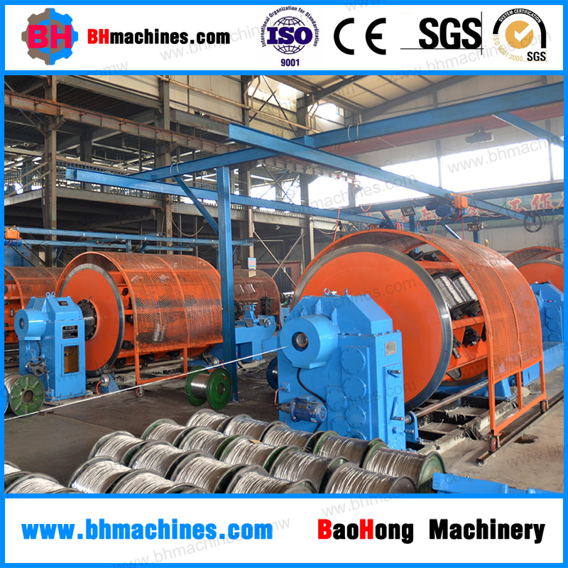 Low Price High Quality Cable Plant- Rigid Frame Stranding Machine for Electricity Power Cable