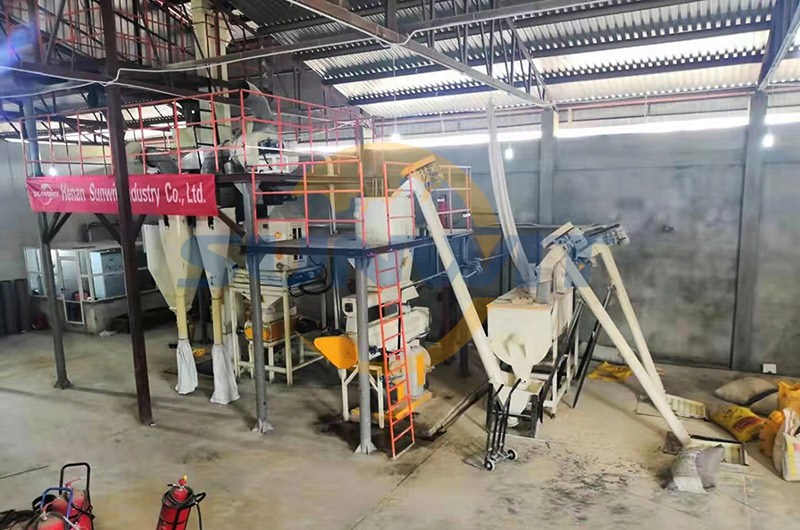 Poultry feed production machine for sale