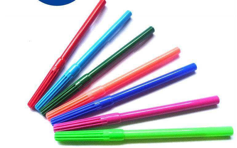 Water based color pen, fibre pen, felt tip pen