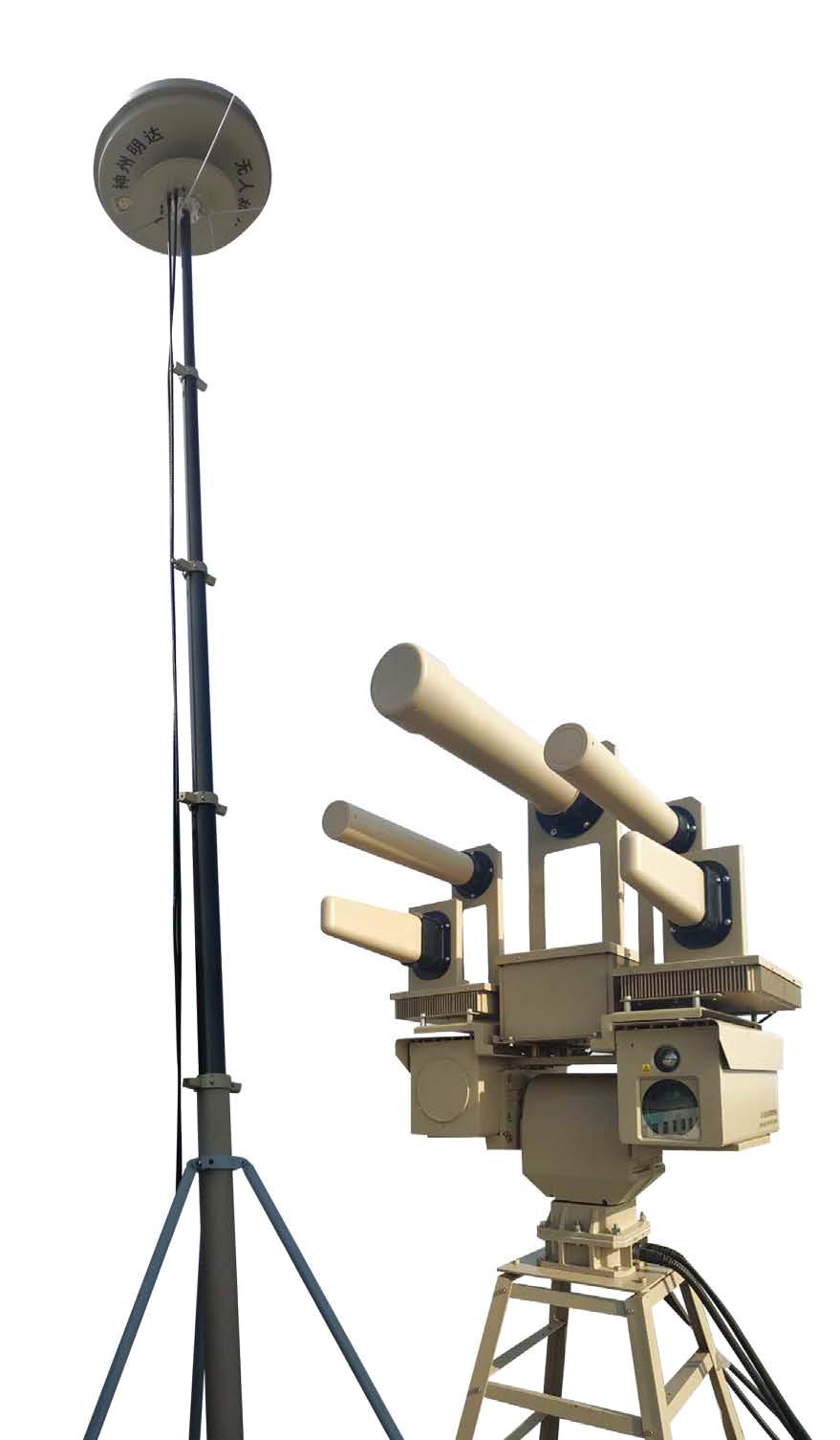 2017 Professional Intelligent Anti -drone Navigation System