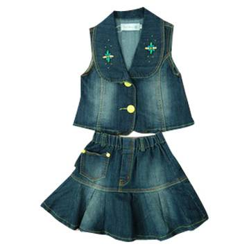 Various Styles and Patterns Children Jeans