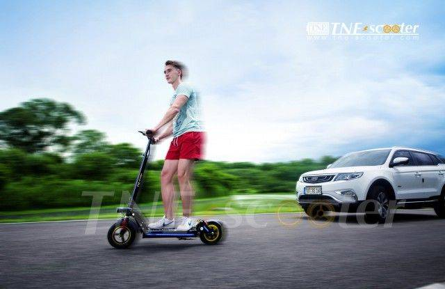 TNE High-speed 65km/h electric folding scooter