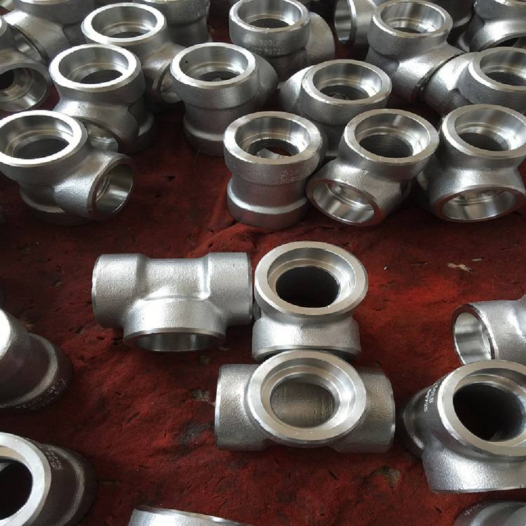 High pressure cl3000 stainless steel fittings 304 316 tee