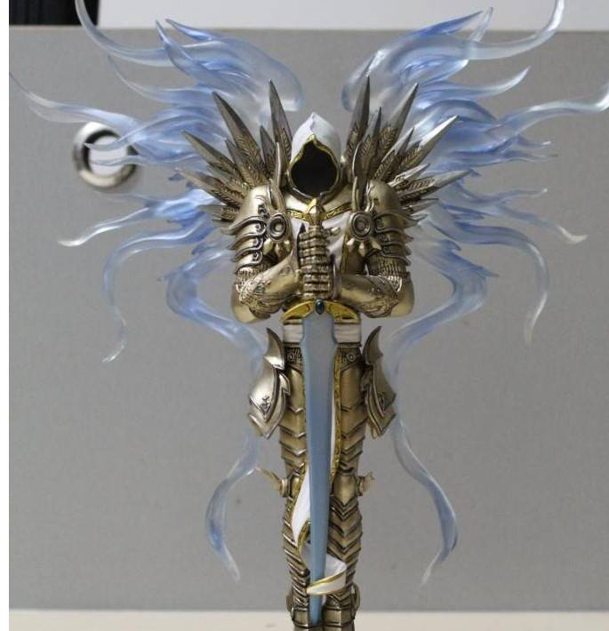 1/8 Diablo 3 Archangel Tyrael Figurine Pre-painted Figure Statue Toy Collectible