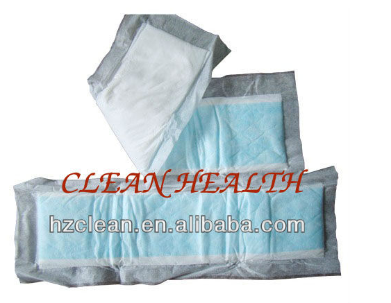 Disposable adult insert pad for incontinence