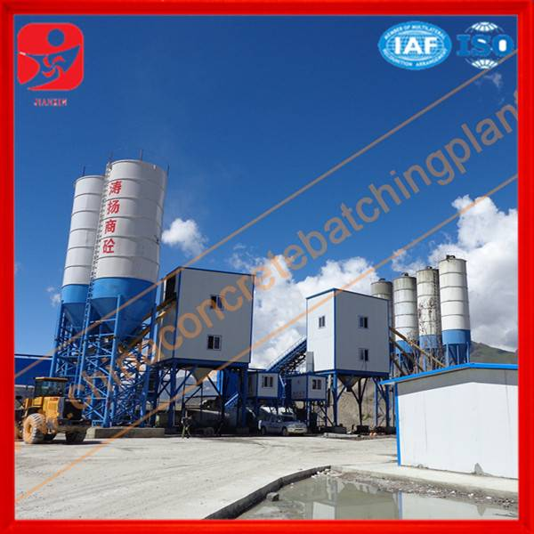 Factory price ready stock low price HZS 150 concrete mixing station